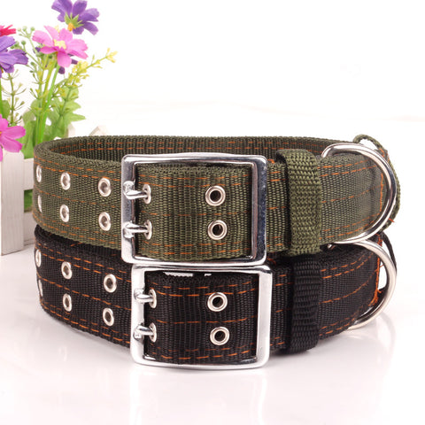 Army Strong - Pet Canvas Collars (XXXL-4XL)