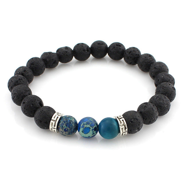 Refined Stone - Men's Bracelet - Miss Molly & Co.