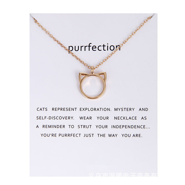 Purrfect You! - Cat Lady Necklace