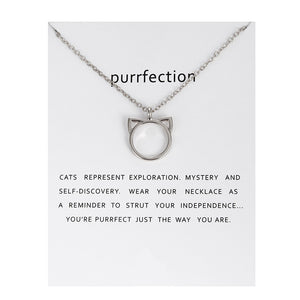 Purrfect You! - Cat Necklace