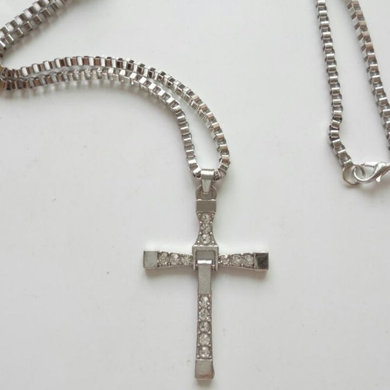 Lucky Cross - Necklace - Men