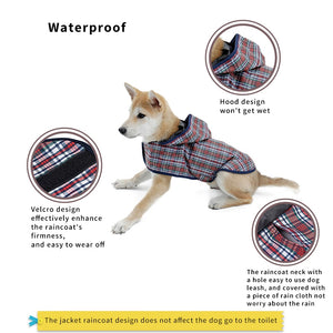 PONCHO Pet Raincoat (S-XL)