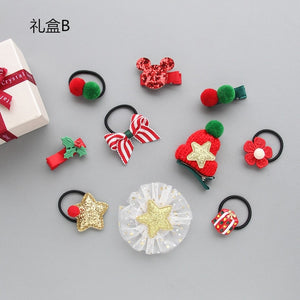 Santa Bows & Mix - Pets (5/8pcs)