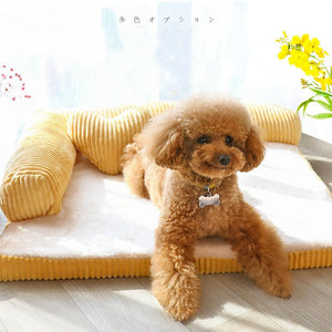 Luxe Pet Sofa (S M L XL), Pet Travel, Cutadorns Store, Miss Molly & Co. - Miss Molly & Co.