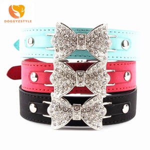 Bow Bling - Pet Collars (XS/S/M)(Just Pay Shipping)