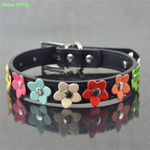Happy Flower Pup - Pet Dog Collars (XS-L), Collar, Global Baby Official Store, Miss Molly & Co. - Miss Molly & Co.