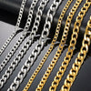 Cuban Chains - (Silver/Gold)