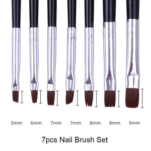 Nail Painting - Gel Brushes