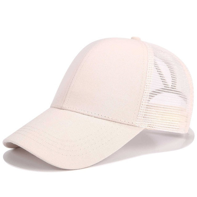 Ponytail Baseball Cap (Adjustable)