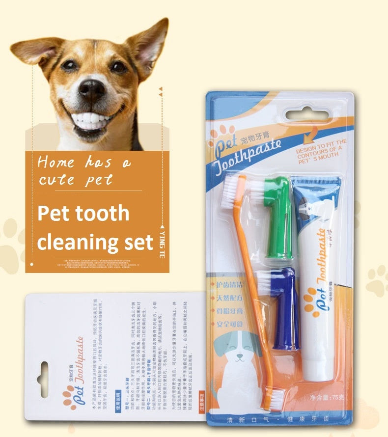 Pet Dental Care - Set (Vanilla/Beef)