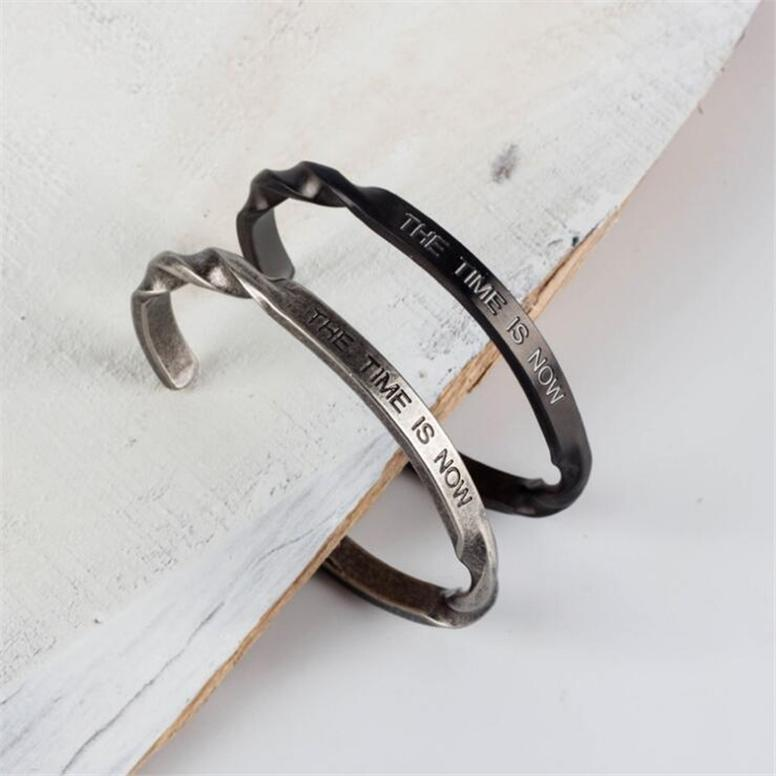 Gun Metal Retro - Bracelet - Men - Miss Molly & Co.