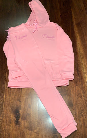 ROSE PINK JOGGING SUIT
