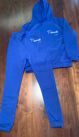 Passionate Womens Jogger Royal Blue