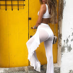 Mesh Beach Cover-Up Pants