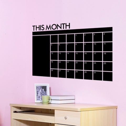 CHALKBOARD REMOVABLE PLANNER