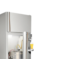 Fridge conversion kits for sankey keg