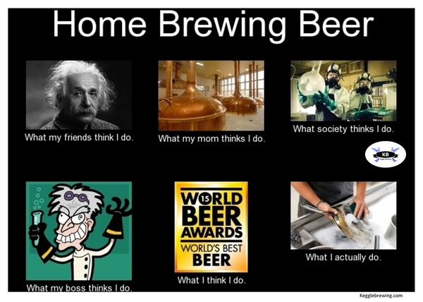 What i really do homebrewing beer.