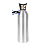 Catalina Cylinders 20lb Aluminum CO2 tank.  (shipped empty)