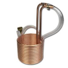 25 Ft Copper Immersion Wort Chiller
