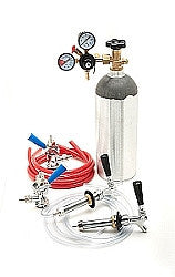 Two Tap Kegerator Conversion Kit for Sankey Kegs