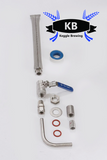 Keggle Conversion Kit for Boil Keggle (weldless)