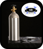 Catalina Cylinders 5 lb Aluminum CO2 Tank