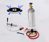 Single Tap Fridge Conversion Kit for Pin  Lock Kegs