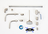 Hot Liquor Keggle Conversion Kit (welded)