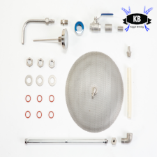 Keggle or Kettle Mash Tun Conversion Kit (weldless)