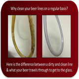 Home Brewing Three Tap Beer Line Cleaning Kit (pressure)