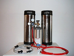Two Tap Basic Ball Lock Home Brew System