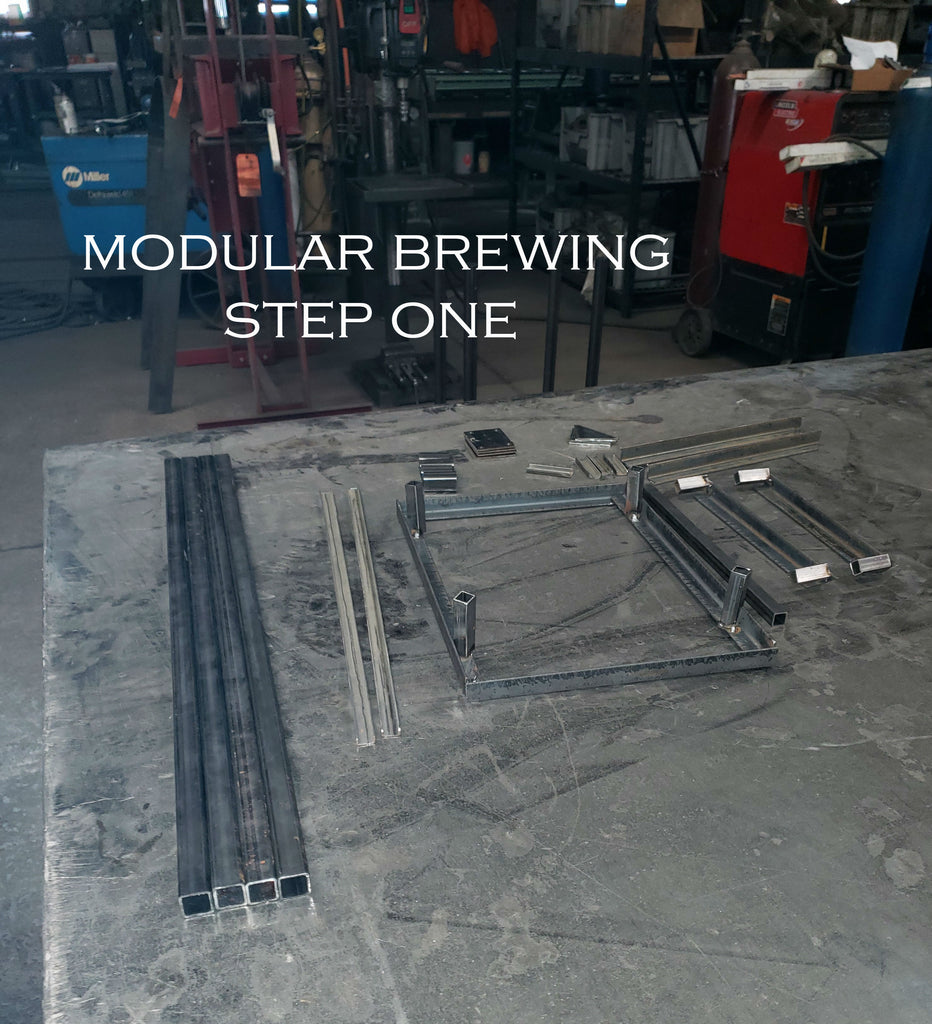 modular brewing step one