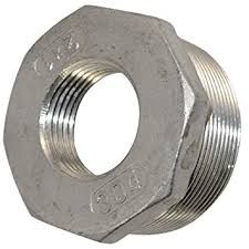 "Stainless Steel 1 1/2"" x 1 1/4"" Bushing"