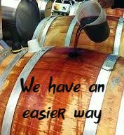 Wine Barrel Topping System
