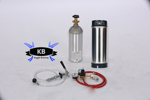 Single Tap Fridge Conversion Kit For One Ball Lock Keg