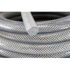 "1/2"" Reinforced Braided SILICONE Silbrade; hose sold by the foot"