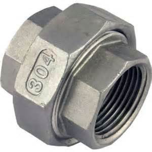 "Stainless Steel 1/2"" female to female union"