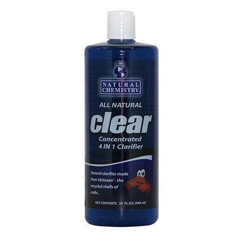 Clear Clarifier (All natural chitosan based)  1 Gallon