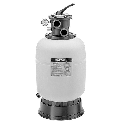 "16"" Pro Series Filter, Base and Hose Package. Includes 6-Way Multiport Valve, Pump Mounting Base, Hose Adapters,  Clamps and Hardware. Order Pump Separately - Sand 100#"