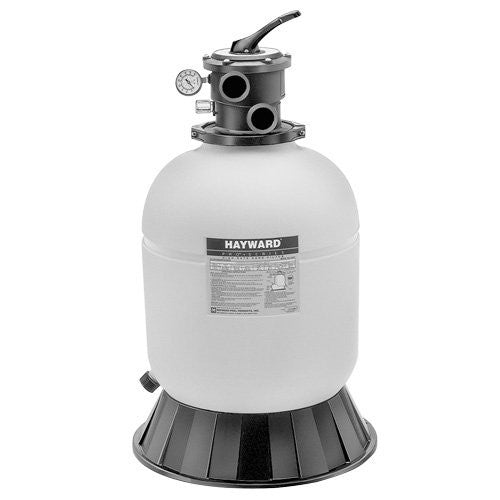 "20"" Pro Series Polymeric Filter - Includes Support Skirt and Top-Mounted  6-Position Vari-Flo Valve - Sand 200#"