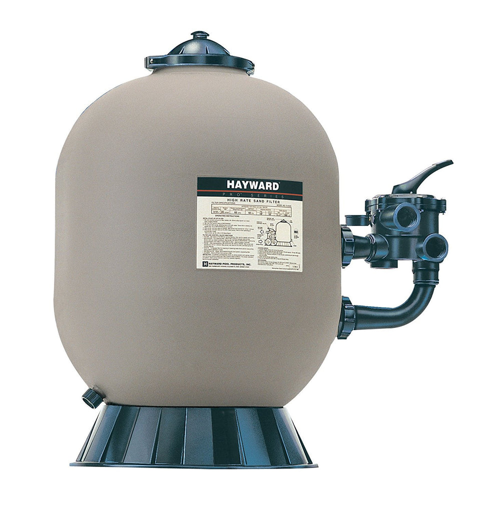 "24"" Pro Series Polymeric Filter w/Side Mtd 1 1/2 Multiport Valve - Sand 300#"