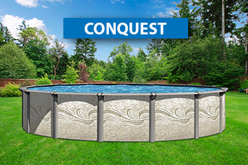 Conquest above ground swimming pool kit