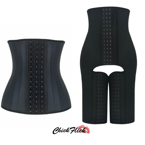 25-Boned Latex (Black or Nude) + 3-in-1 9-Boned Latex Combo