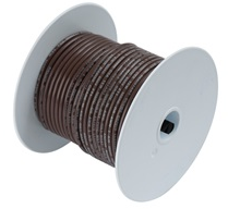 Ancor-100210-100' #18 BROWN TINNED COPPER