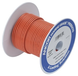 Ancor-100525-250' #18 ORANGE TINNED COPPER