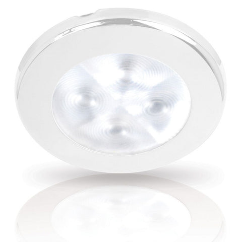 Hella Marine-2JA 959 599-101-LED DOWNLIGHT RAKINO 24V WHITE SPREAD - WHITE RIM