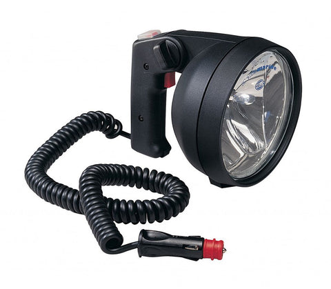Hella Marine HALOGEN SEARCH LAMP 8502 SERIES HAND HELD 12V - BLACK HOUSING