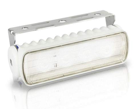 Hella Marine-2LT 980 573-021-LED FLOODLIGHT SEA HAWK-R 9-33V WIDE SPREAD - WHITE HOUSING