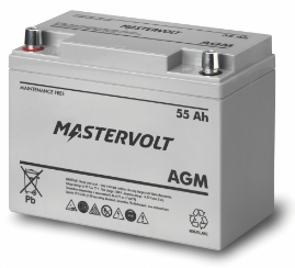Mastervolt - 62000550 - MV 12/55 Ah AGM Battery