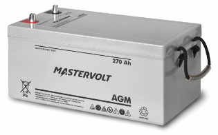 Mastervolt - 62002700 - MV 12/270 Ah AGM Battery